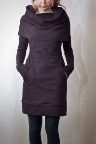 Cowl neck pocket tunic from Emily Ryan, photo is from her Etsy Shop.