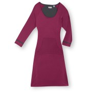 Ibex Random dress in mid-violet