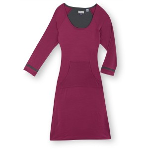 Ibex Random dress in mid-violet
