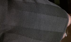 Knit details.