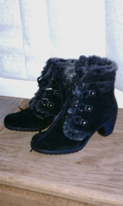 Bass ankle boots.