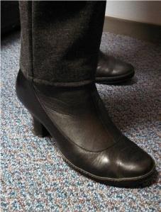 New hem, old boots