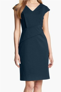 Adrianna Papell Cap Sleeve Sheath Dress