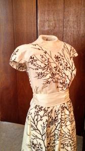 Crepe dress (Colette Patterns), front.