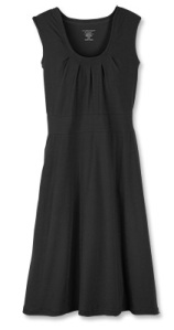 Ex Officio Go To tank dress in black.