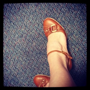 Franco Sarto sandals.