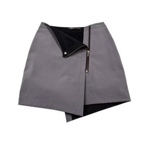 Nau. shroud of purrin wrap skirt
