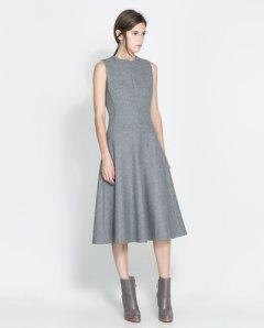 Wool dress from Zara.