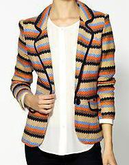 "C Luce stripe blazer (aka the ""loud"" jacket)"