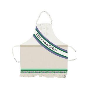 Women's Social and Political Union apron