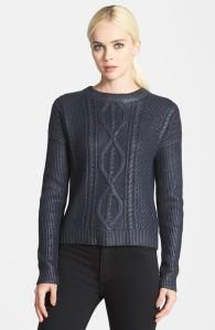 TrouveCoatedSweater